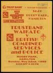 Waikato v British Combined Services and Police