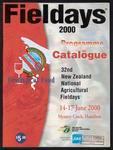 Fieldays 2000 programme and catalogue