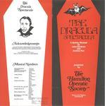 The Dracula Spectacula, 1978