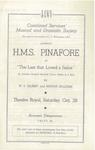 H M S Pinafore, 1944