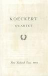 Koeckert Quartet, 1955