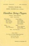 Hamilton String Players, 1956