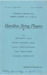 Hamilton String Players, 1957
