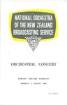 National Orchestra of the New Zealand Broadcasting Service, 1960