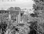 Railway Bridge construction 1961