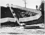 Slide at Hamilton Lake Domain