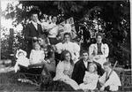 Group photograph. of men women and children
