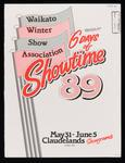 Waikato Winter Show 6 Days of Showtime '89