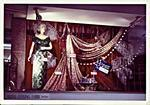 H. & J. Court Ltd. window display for the bridal-evening fabric boutique