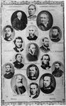 Portraits of Weslyan missionariers