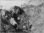First open cast mine in Huntly - W R Mayland Snr., A Burt, J Fisher, Tom Hackett