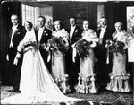 Sydney and Gwendoline Innes (nee Scott) wedding party