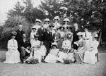 Wedding portrait of Douglas family inc. M. Cowan